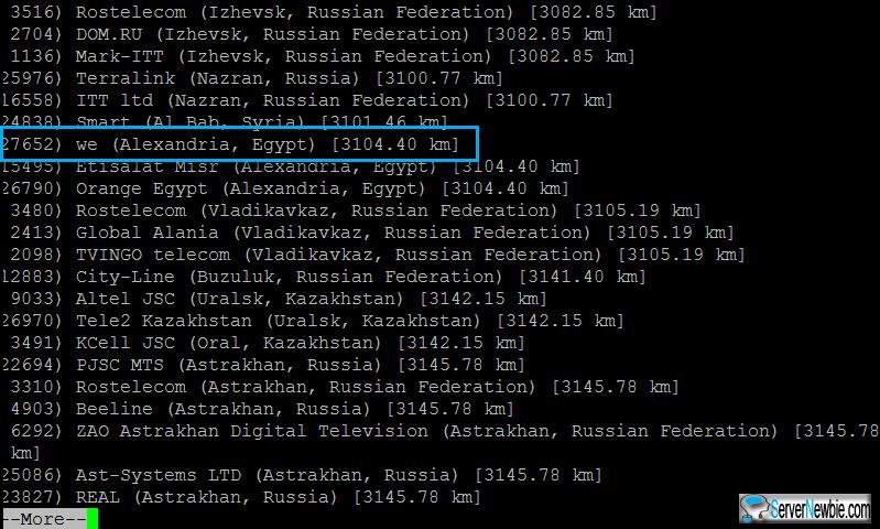 speedtest-cli-list-more-egypt